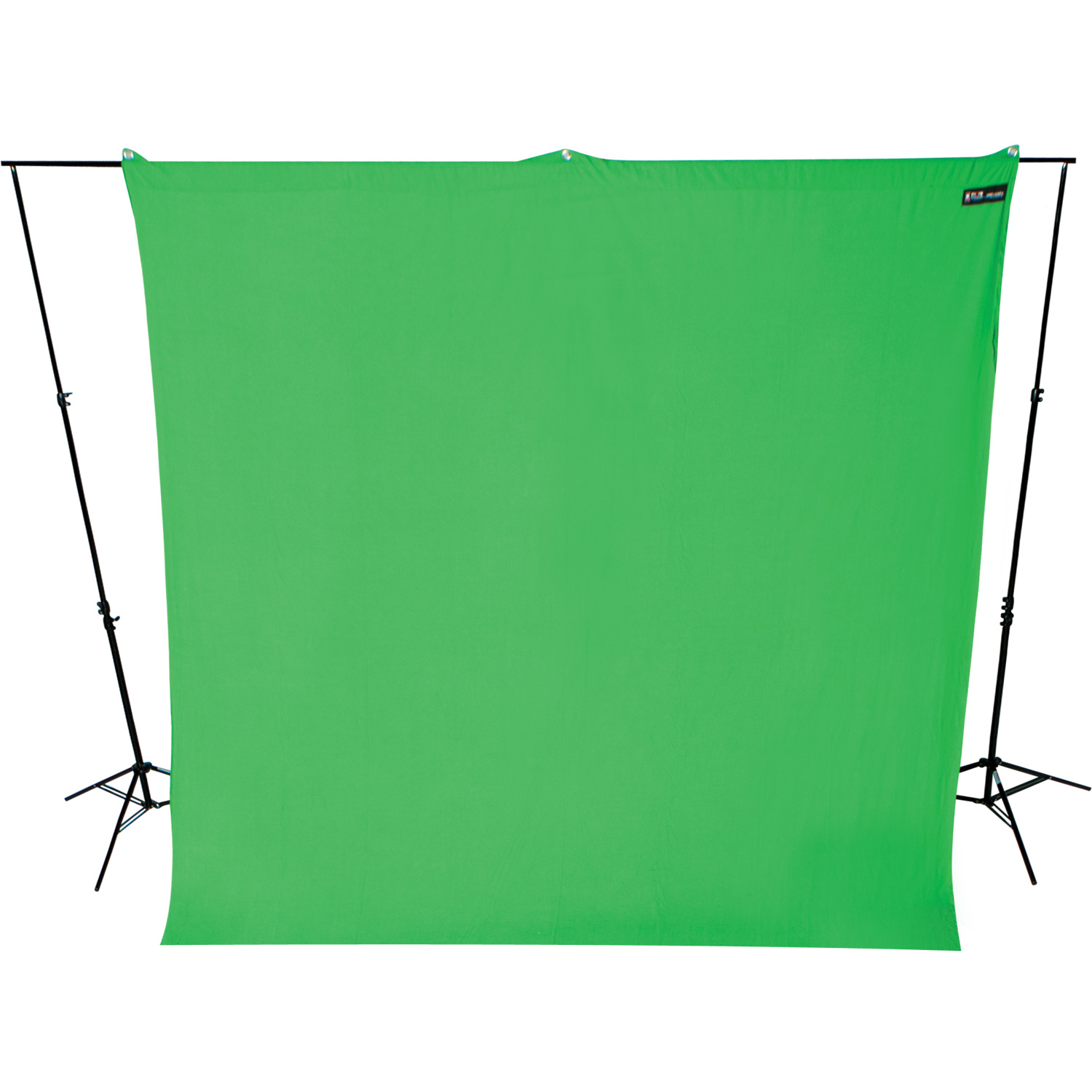 9' x 10' Wrinkle-resistant Green Screen Background