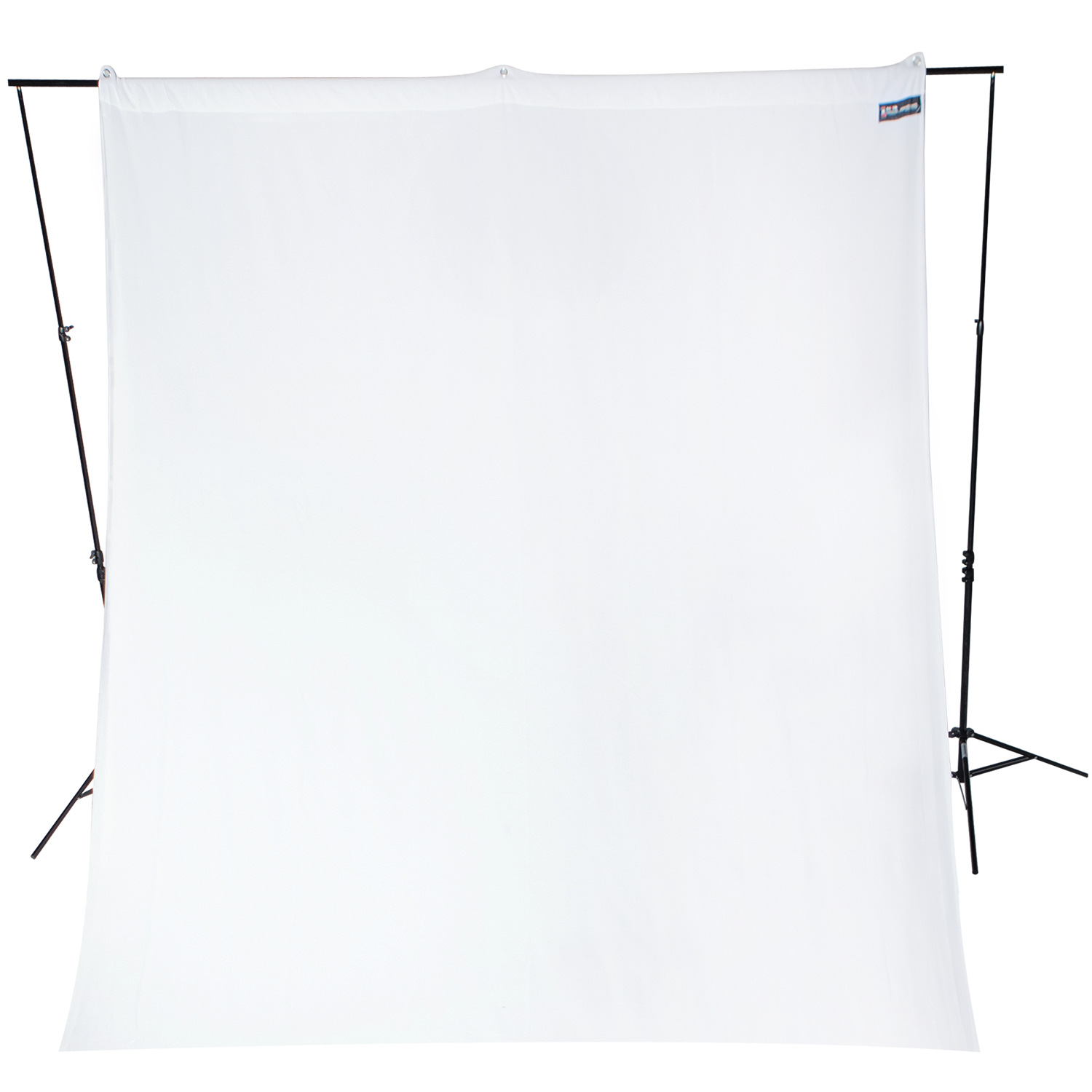 9' x 10' White Background