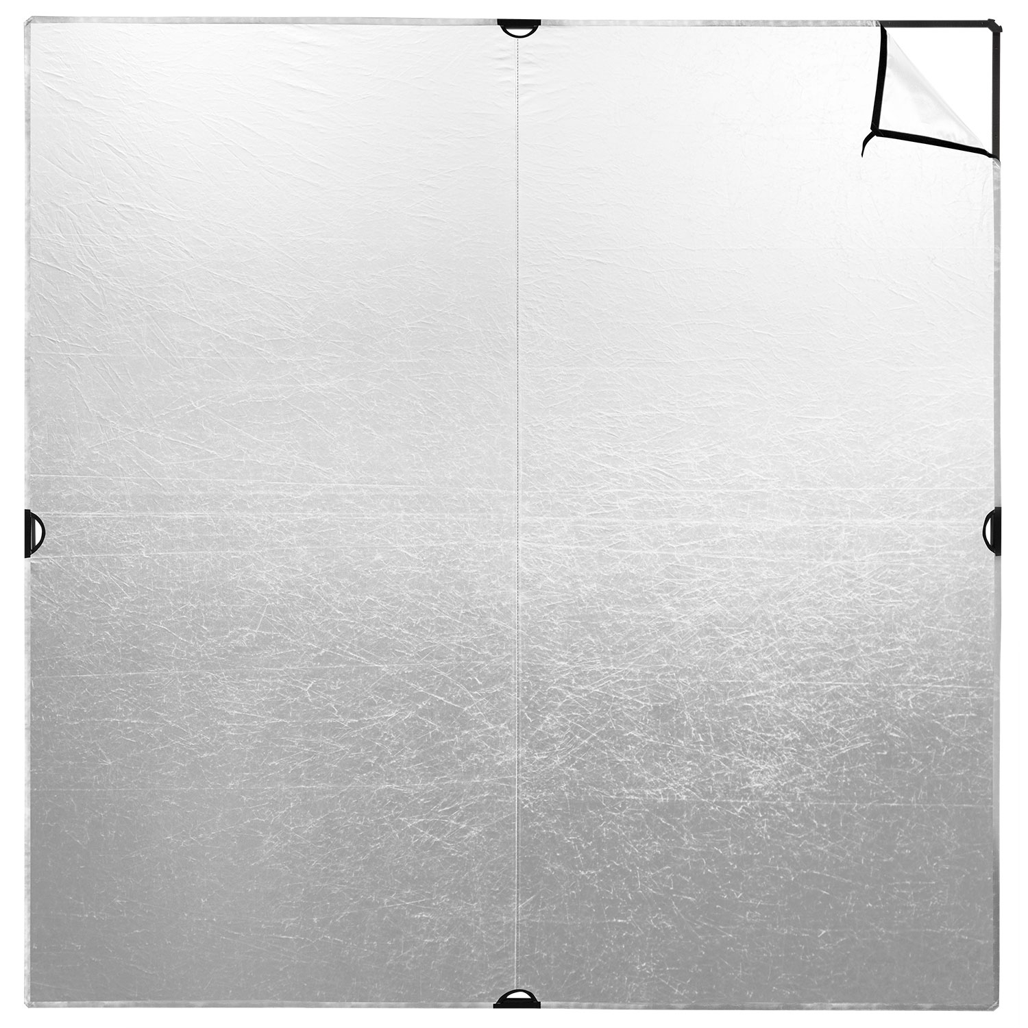96-in. Silver/White Panel