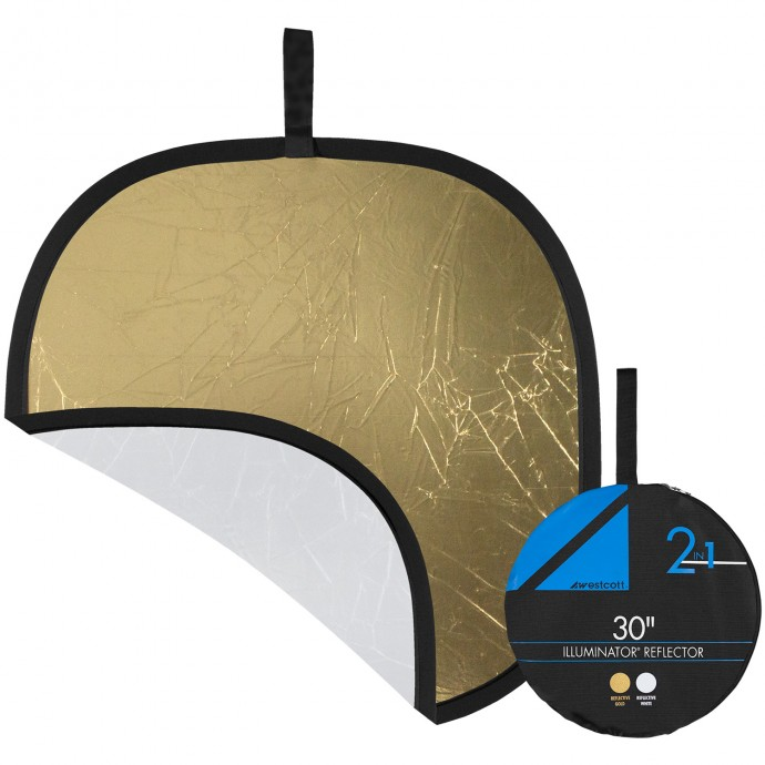 Pro 30-inch Gold/White Reflector Panel