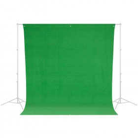 Wrinkle-Resistant Chroma-Key Backdrop