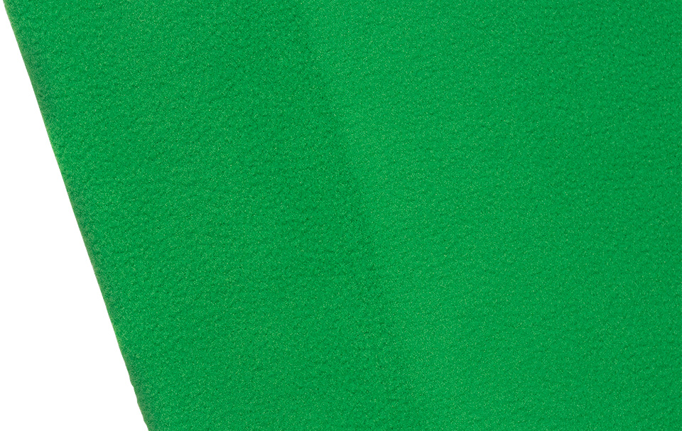 Wrinkle-resistant green screen fabric backdrop