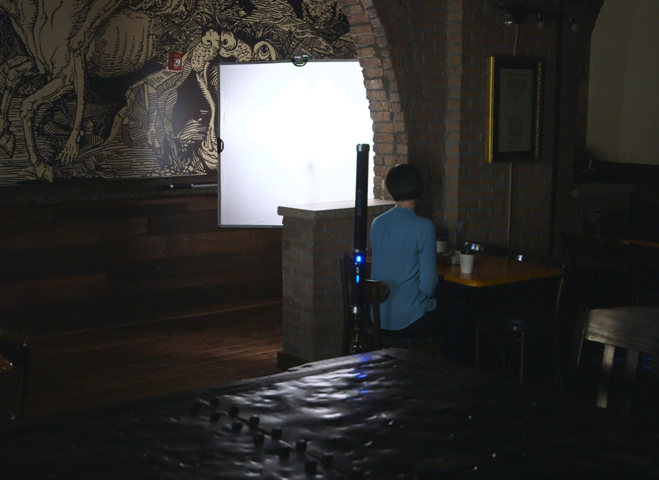 Bouncing light during film production