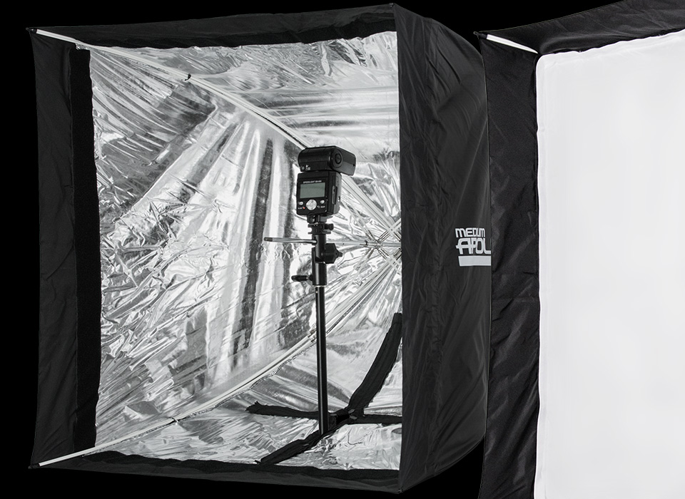 Square collapsible Medium Apollo softbox