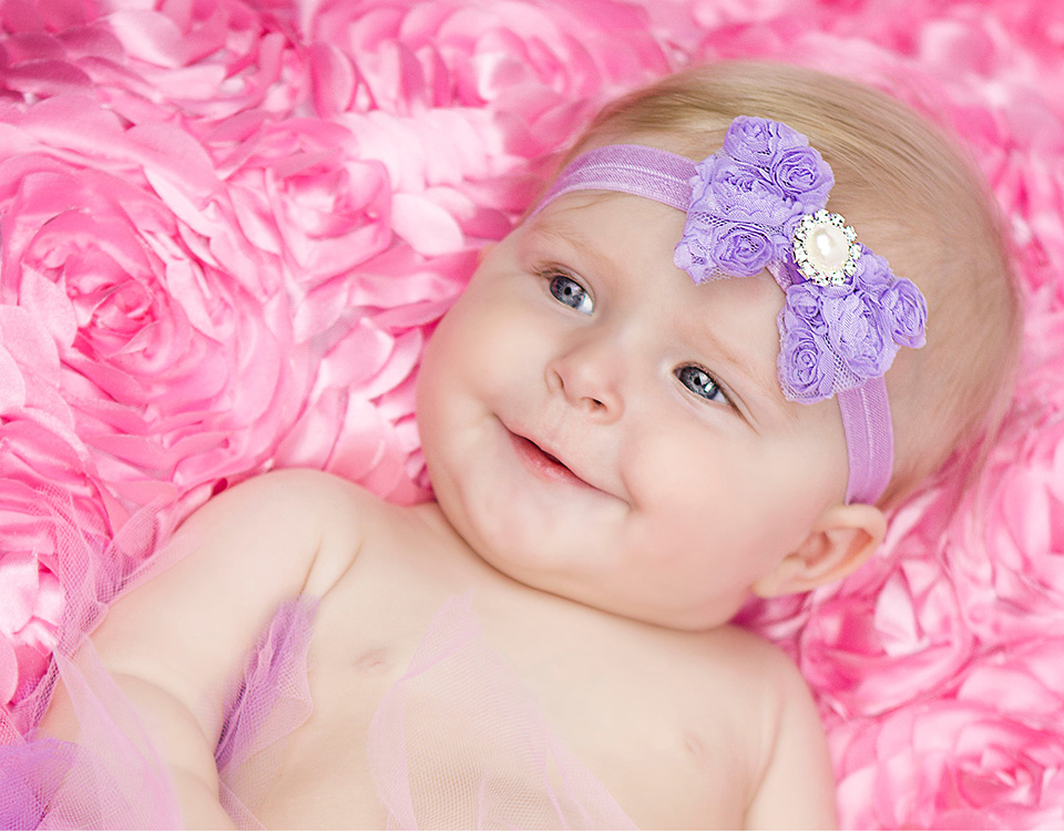 Newborn headband photography prop