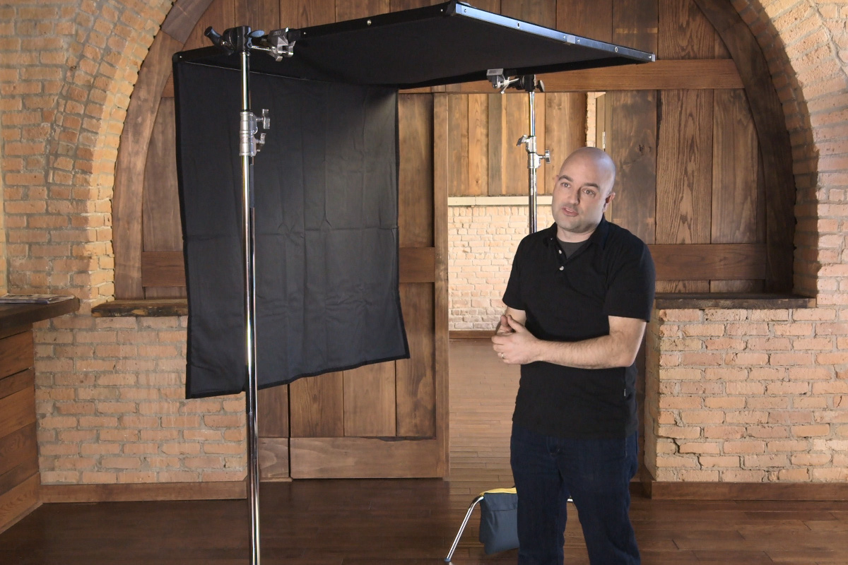 Scrim Jim Cine DP Kit demonstrated by theC47