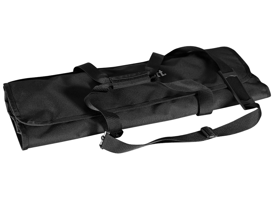 Compact carry case with various compartments