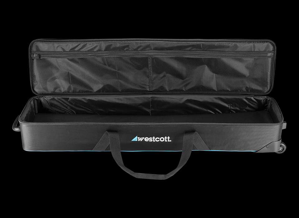 Carry case for lighting control framework and clamps