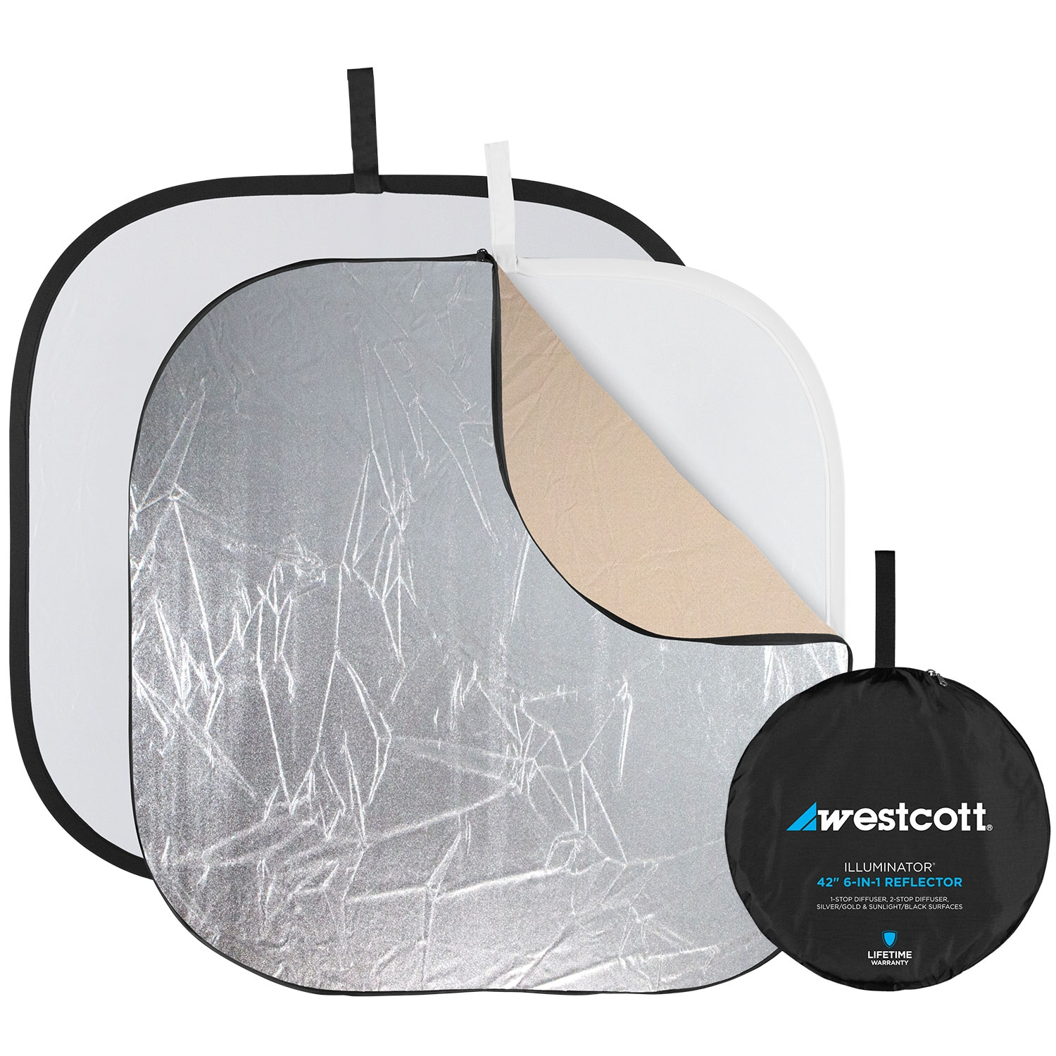 Illuminator Collapsible 6-in-1 Reflector (42-in.)