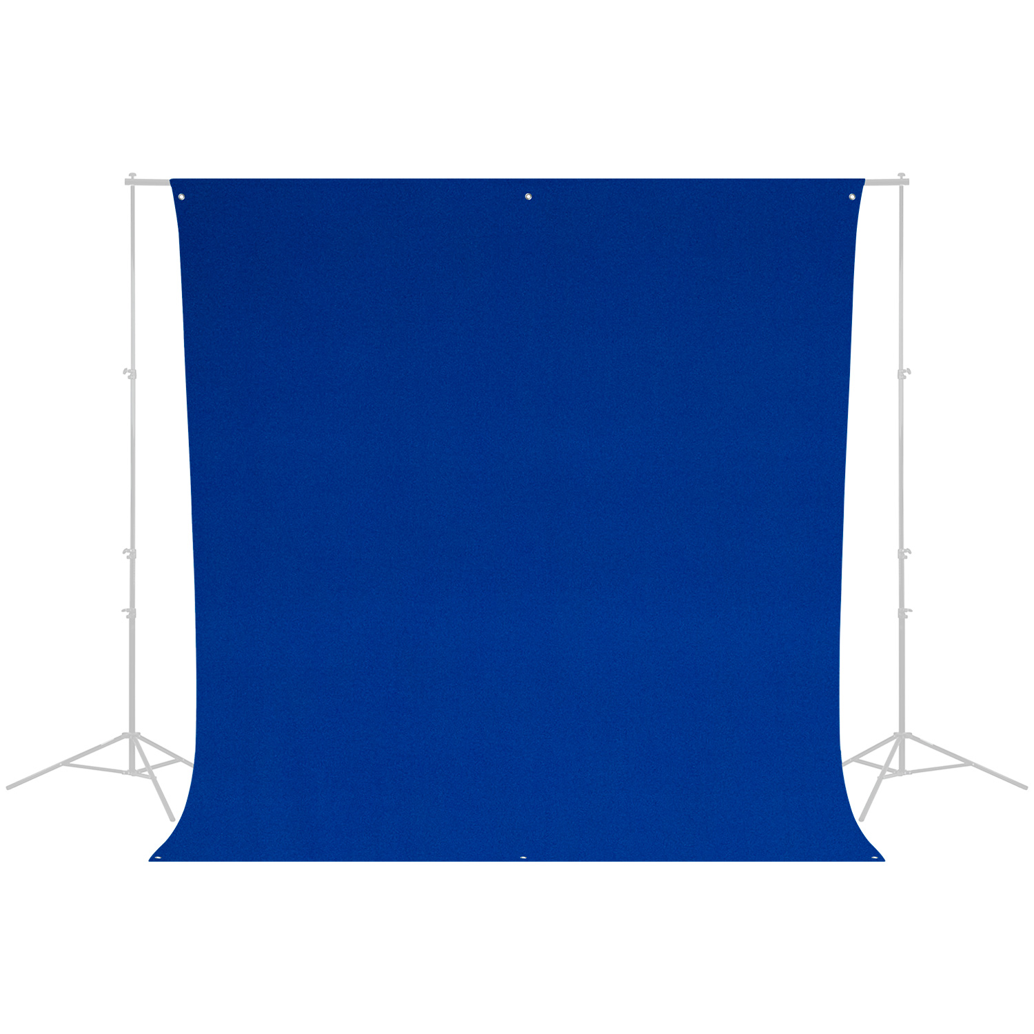 Wrinkle-Resistant Backdrop - Chroma-Key Blue Screen (9' x 10')