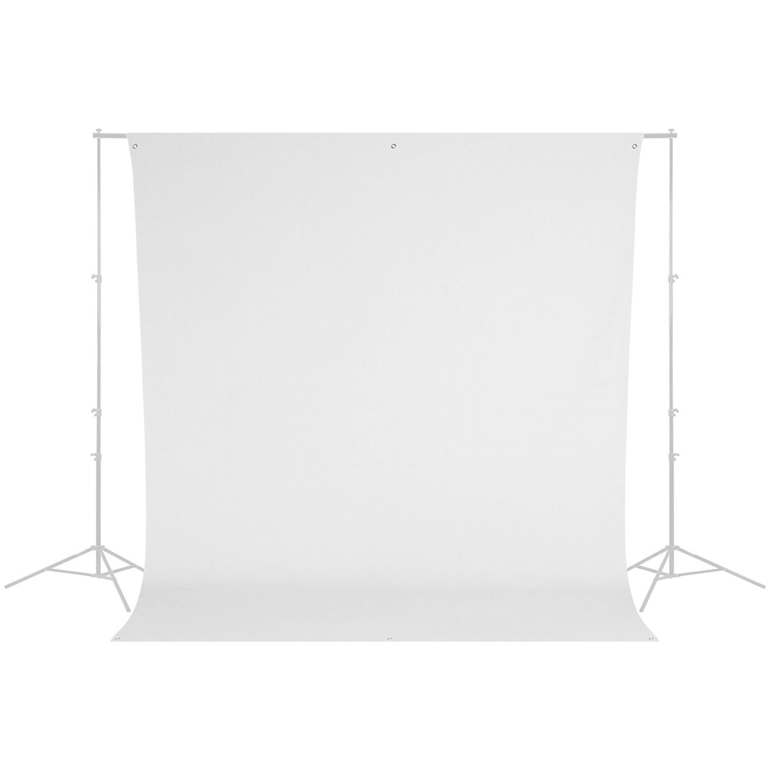 Wrinkle-Resistant Backdrop - High-Key White (9' x 10')