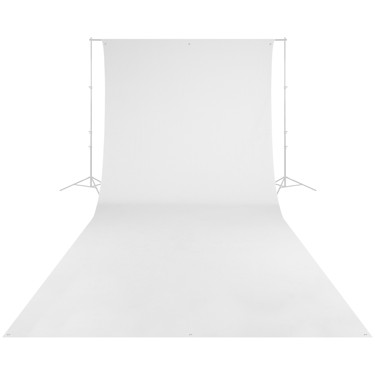 Wrinkle-Resistant Backdrop - High-Key White (9' x 20')