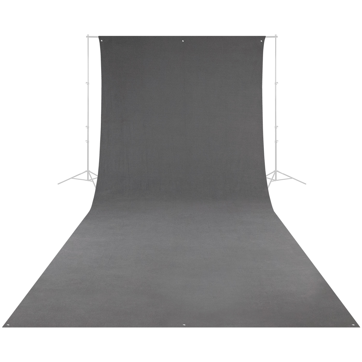 Wrinkle-Resistant Backdrop - Neutral Gray (9' x 20')