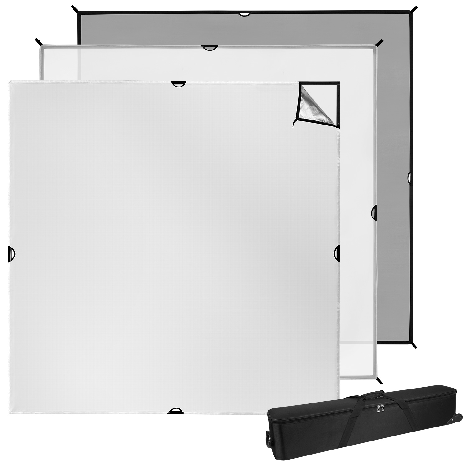 Scrim Jim Cine Video Kit (8' x 8')