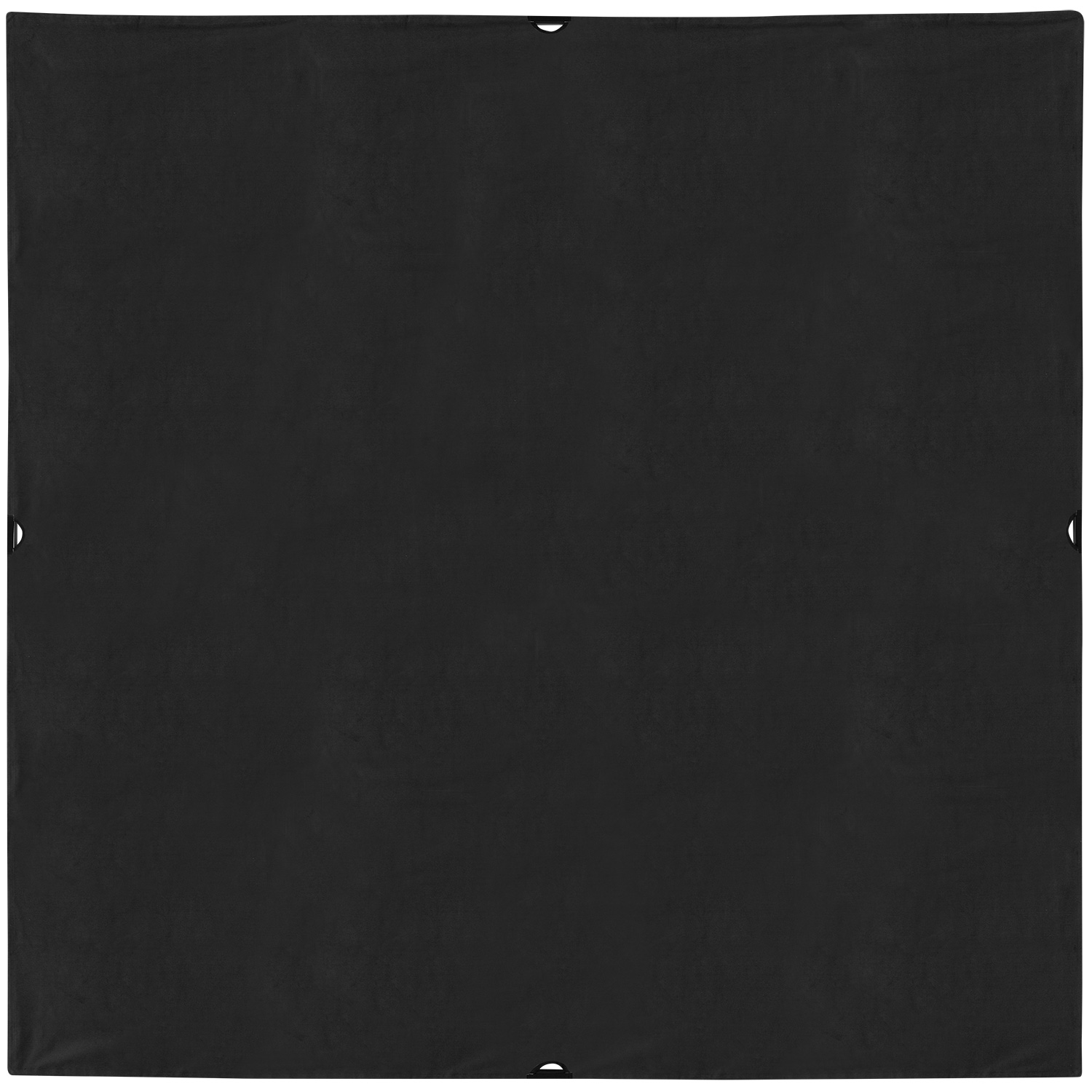 Scrim Jim 96-in. x 96-in. Solid Black Block Fabric