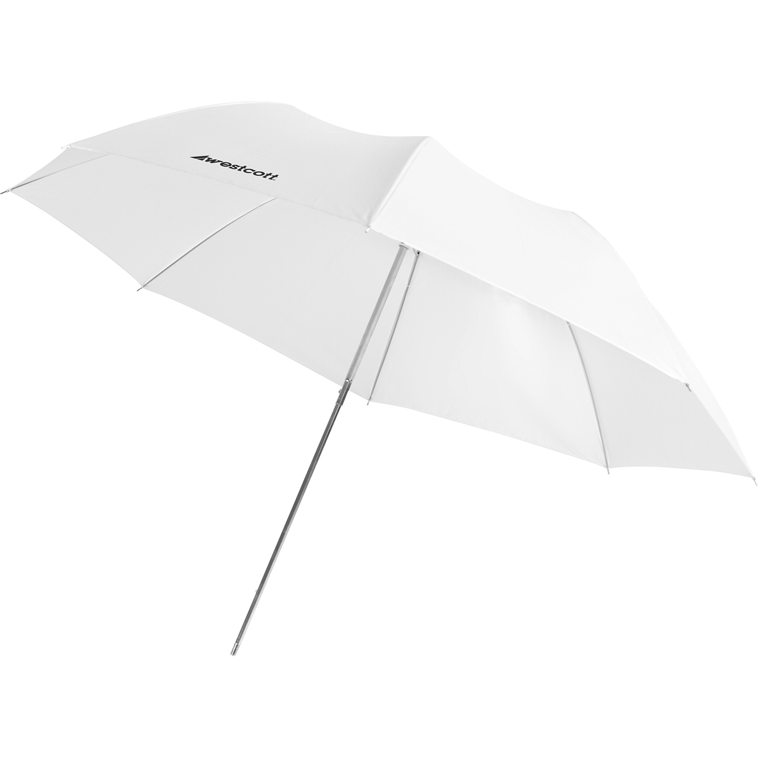 Compact Collapsible Umbrella - Optical White Satin Diffusion (43-in.)