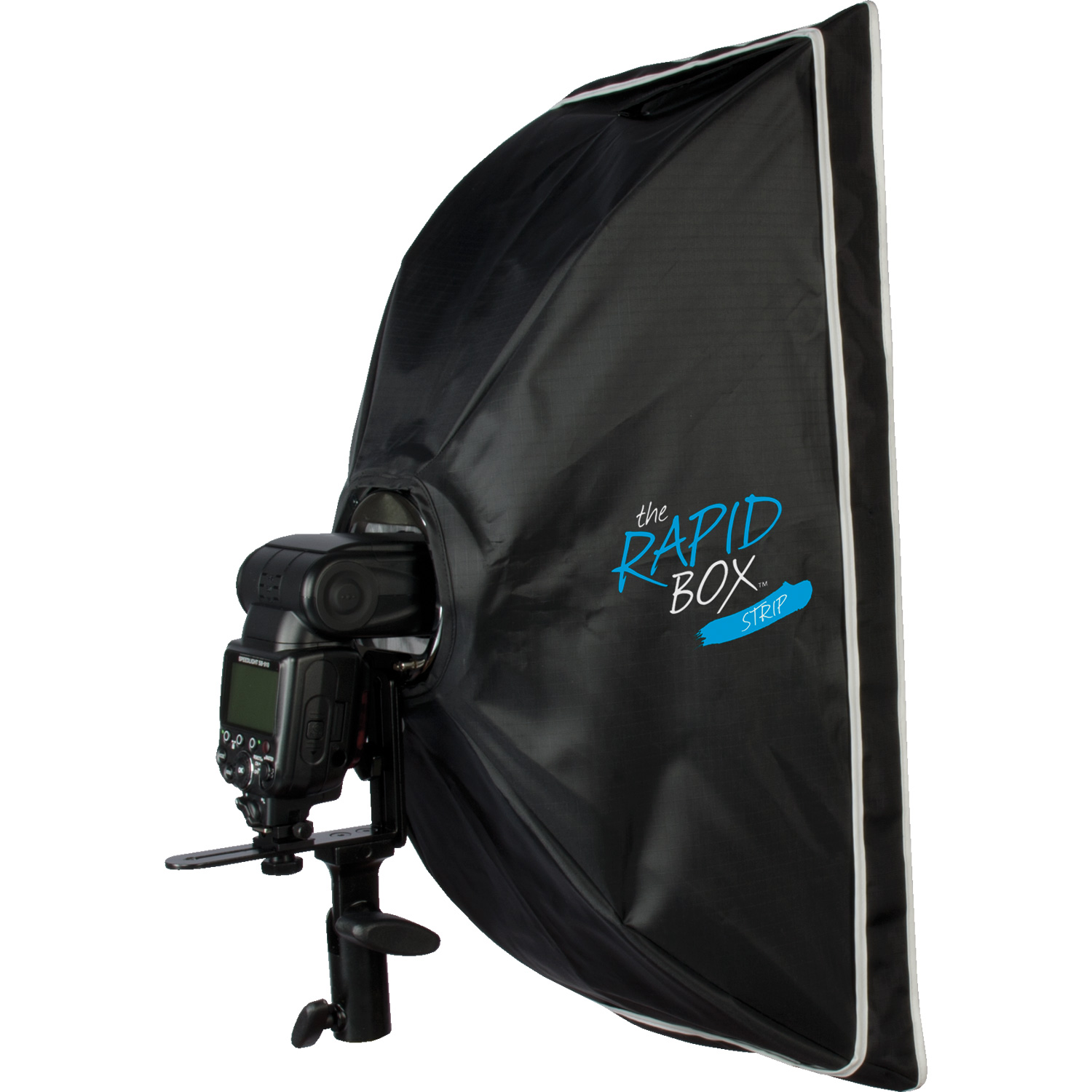Rapid Box Strip with Built-in Speedlite Mount (10-in. x 24-in.)