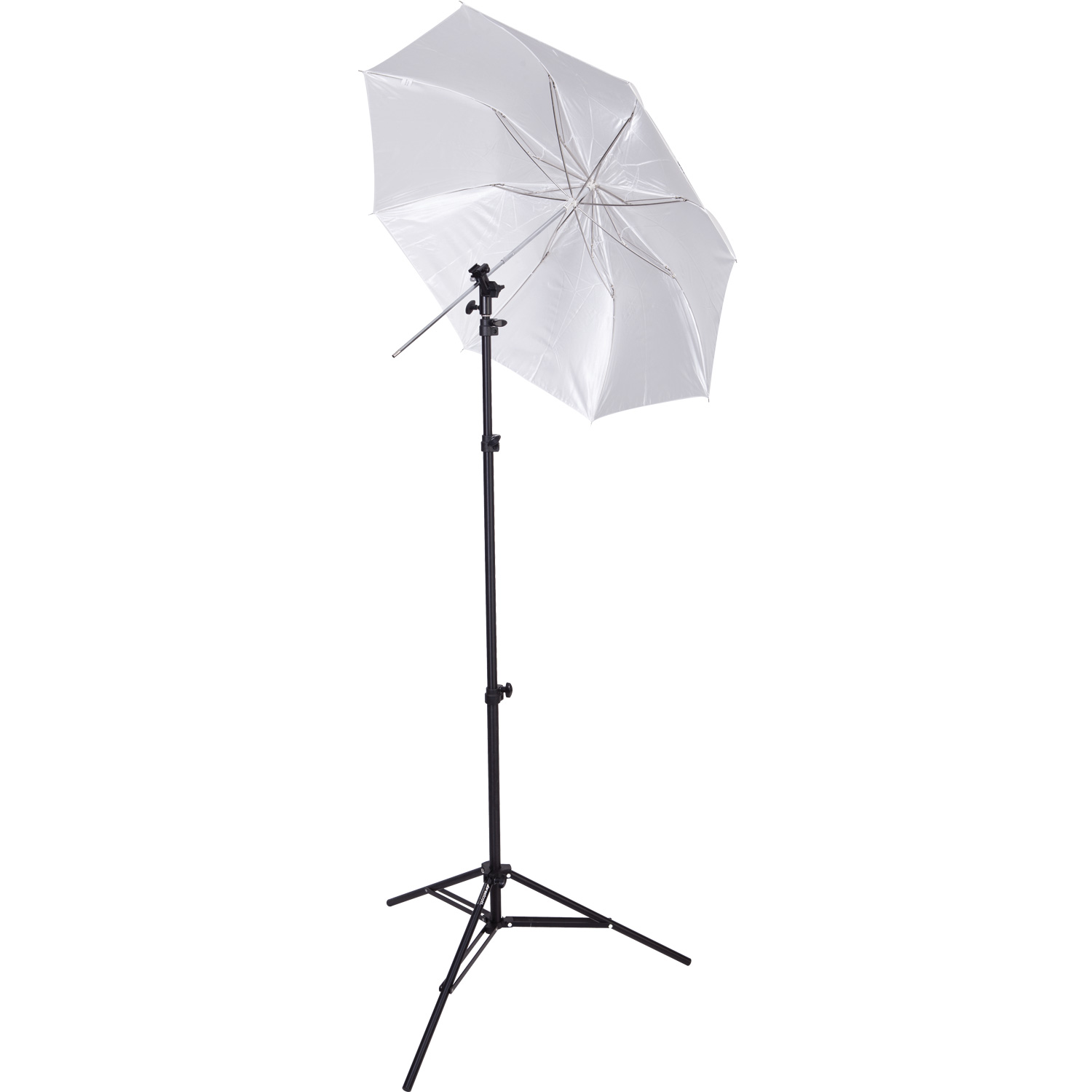 Compact Collapsible Umbrella Flash Kit - Optical White Satin Diffusion (43-in.)