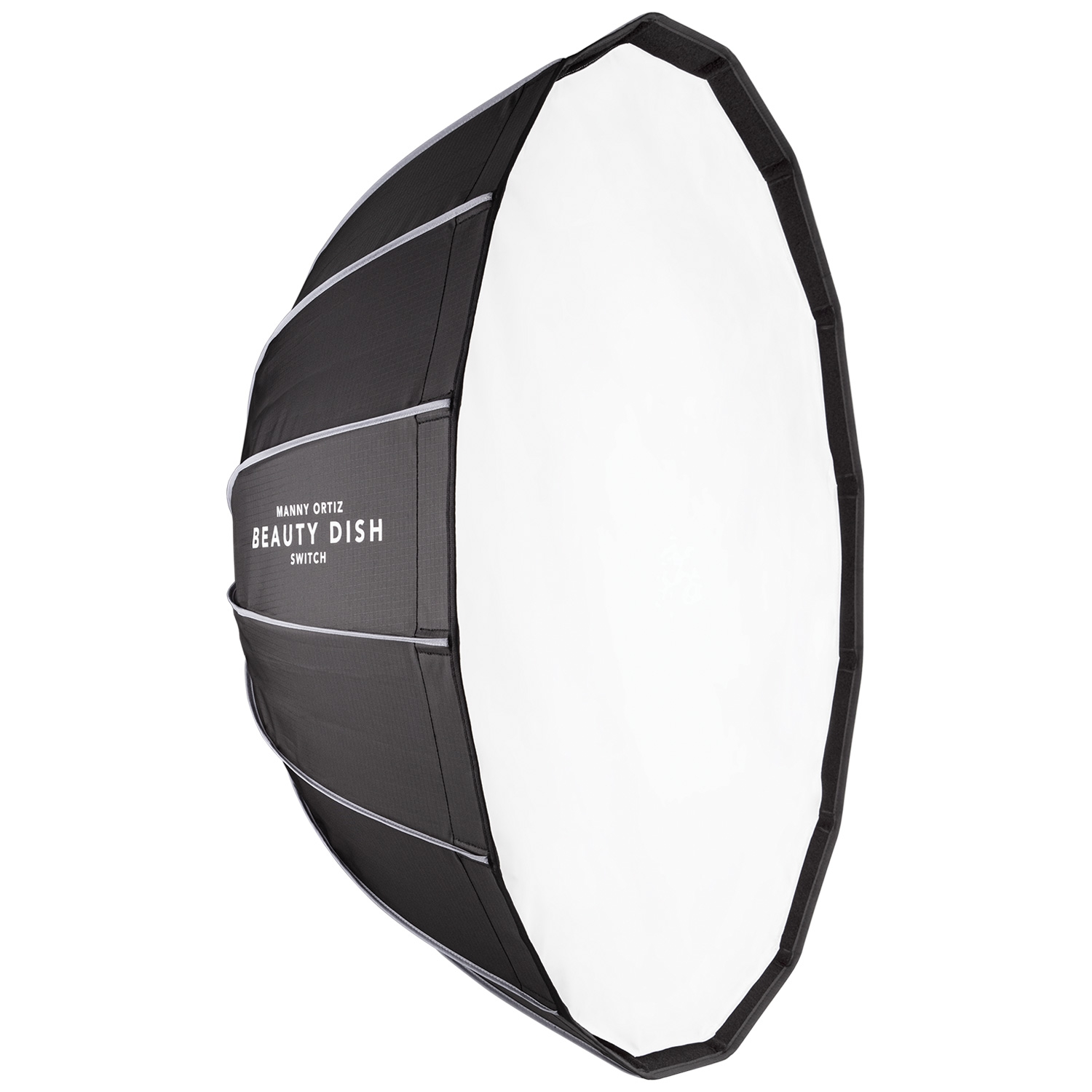 """Beauty Dish Switch by Manny Ortiz (36"""", White Interior)"""