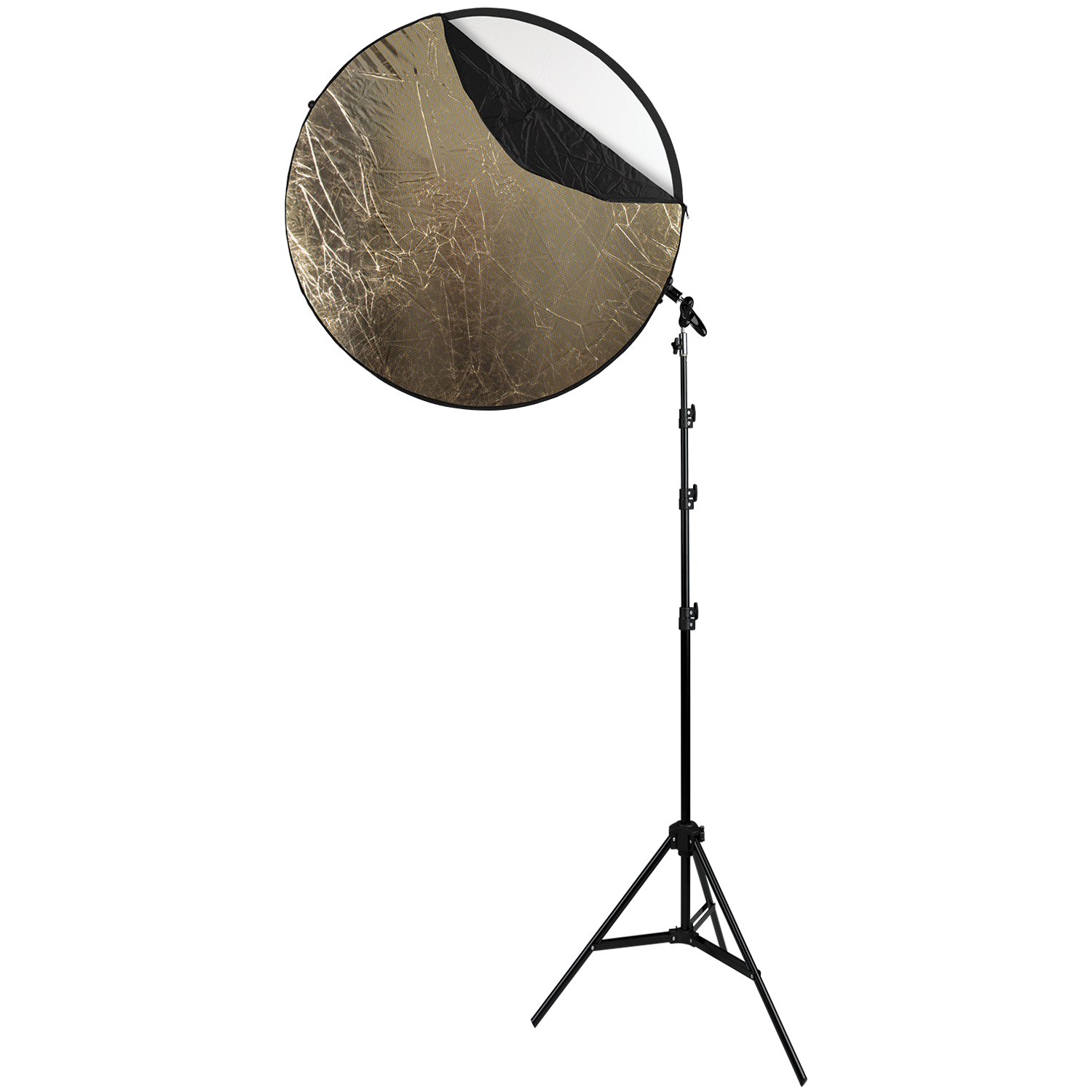 Collapsible 5-in-1 Reflector Kit with Sunlight Surface (40-in.)
