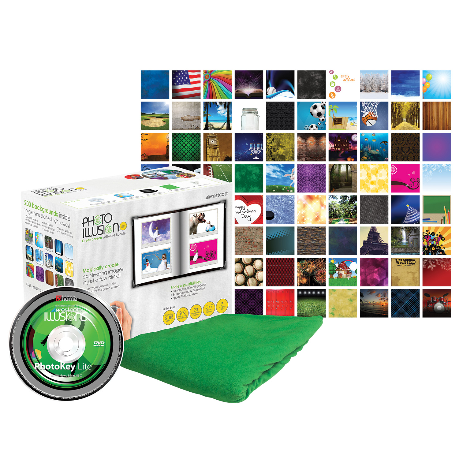 Green Screen PhotoKey Software Bundle