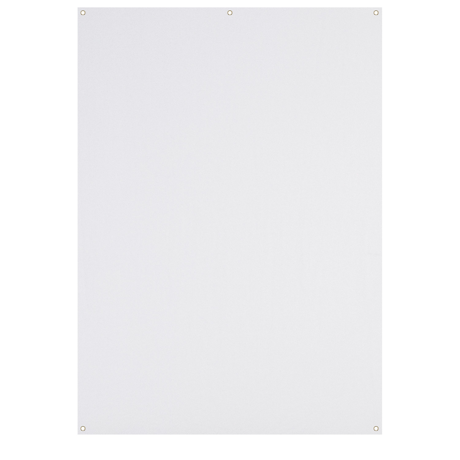 X-Drop Wrinkle-Resistant Backdrop - High-Key White (5' x 7')