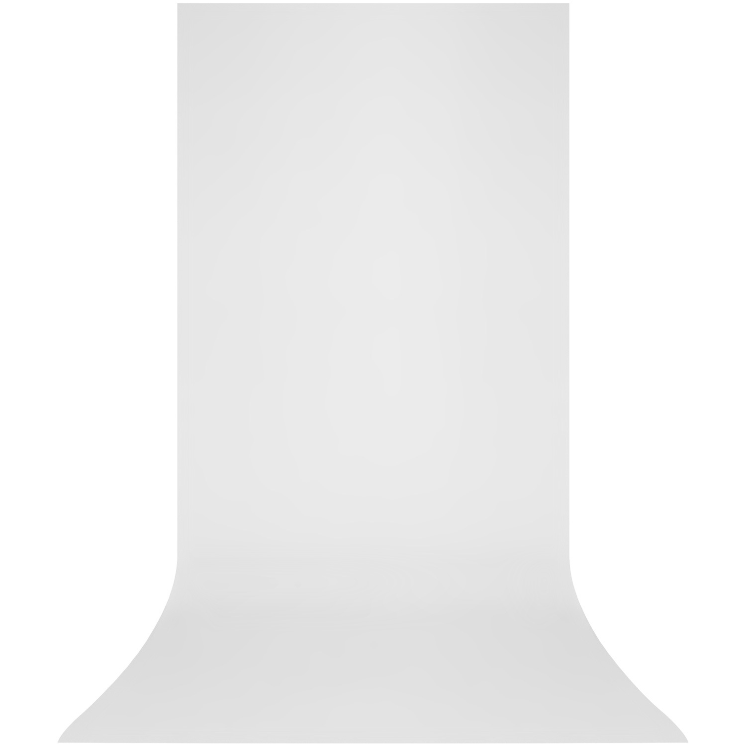 X-Drop Wrinkle-Resistant Backdrop - High-Key White Sweep (5' x 12')