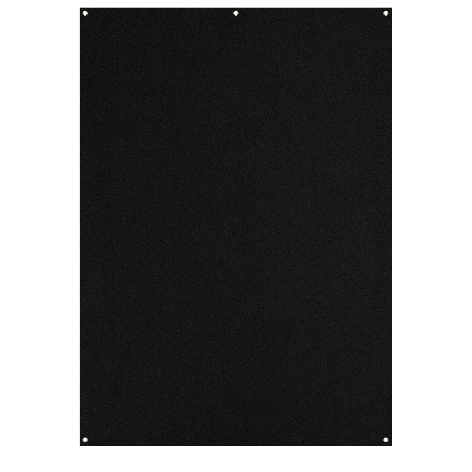 X-Drop Wrinkle-Resistant Backdrop - Rich Black (5' x 7')