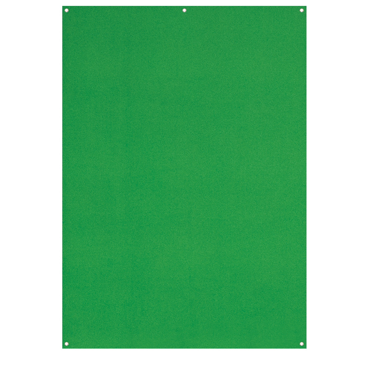 X-Drop Wrinkle-Resistant Backdrop - Chroma-Key Green Screen (5' x 7')