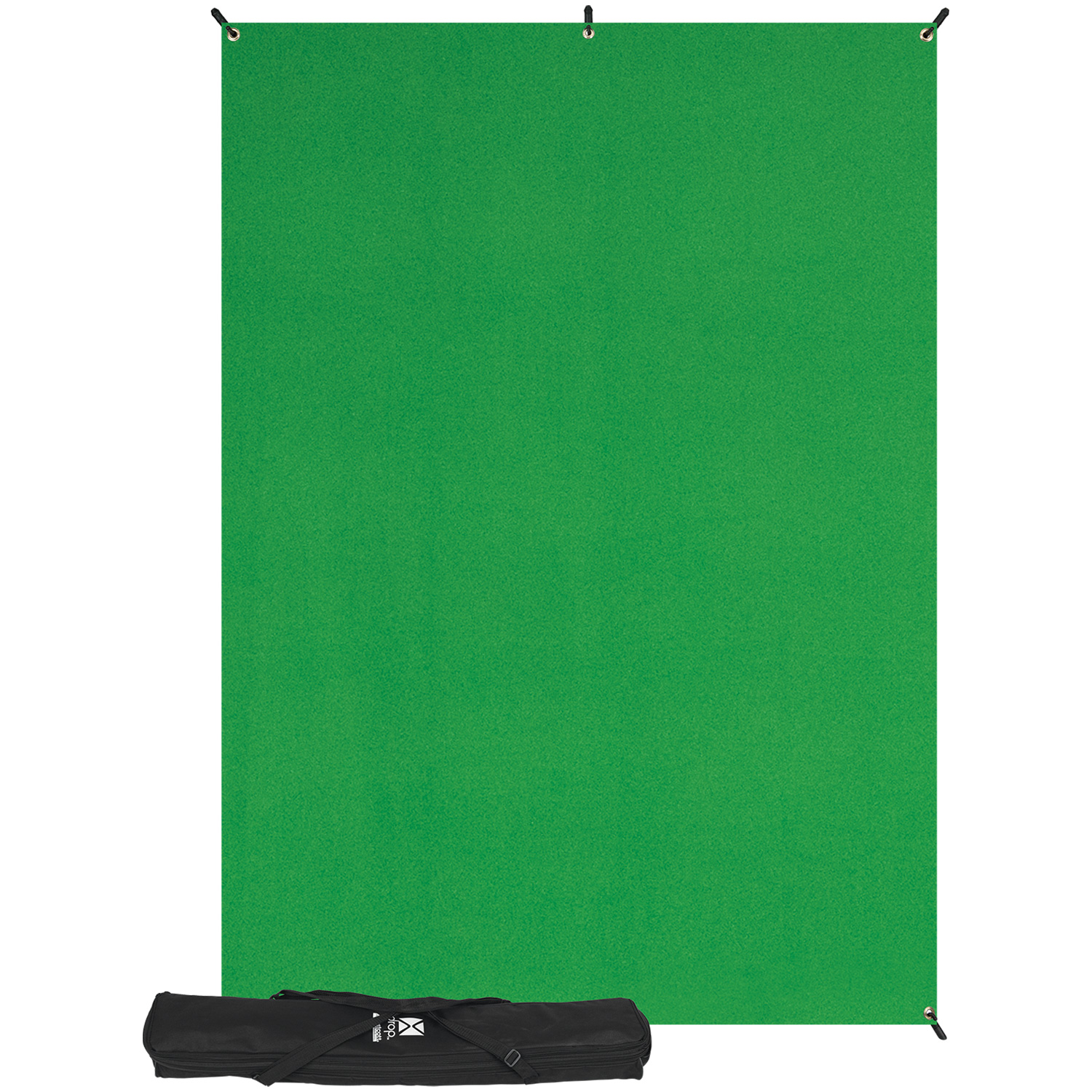 X-Drop 5' x 7' Green Screen Backdrop Kit
