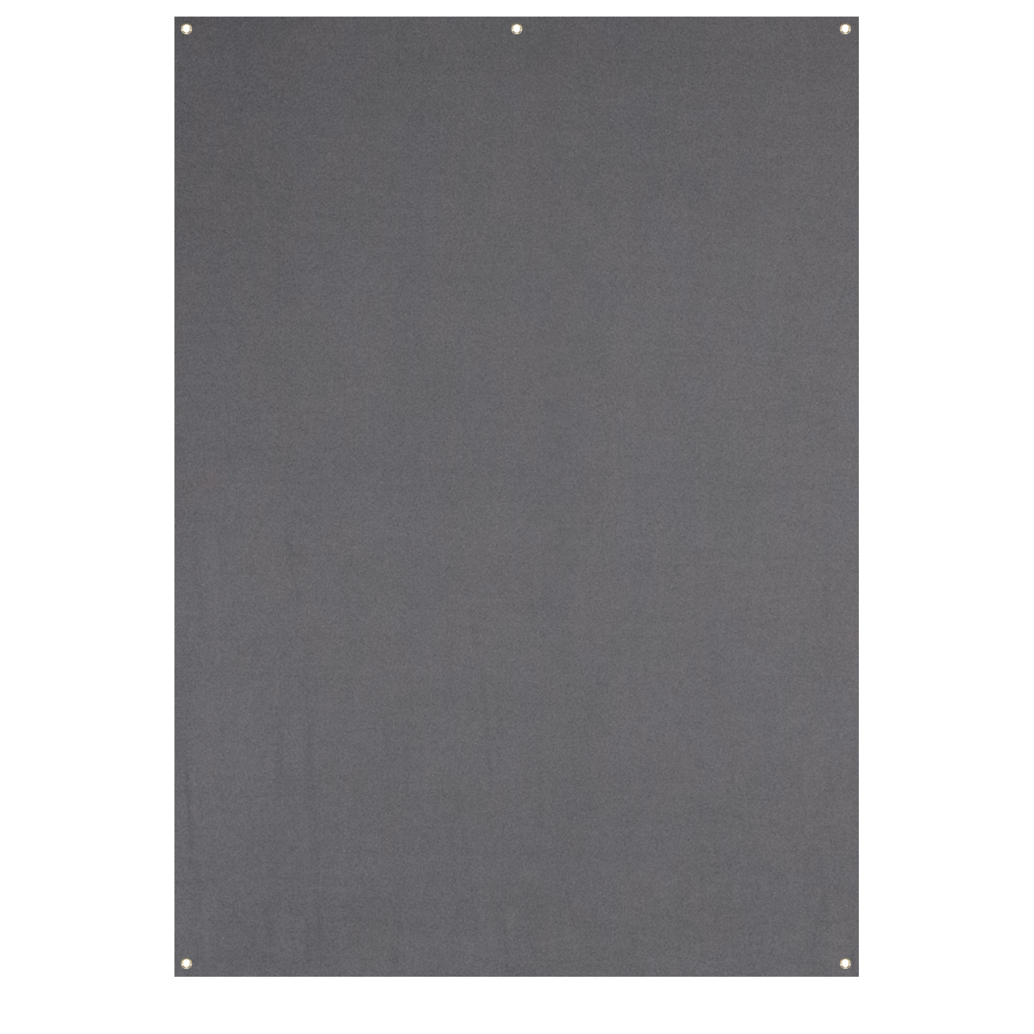 X-Drop Wrinkle-Resistant Backdrop - Neutral Gray (5' x 7')