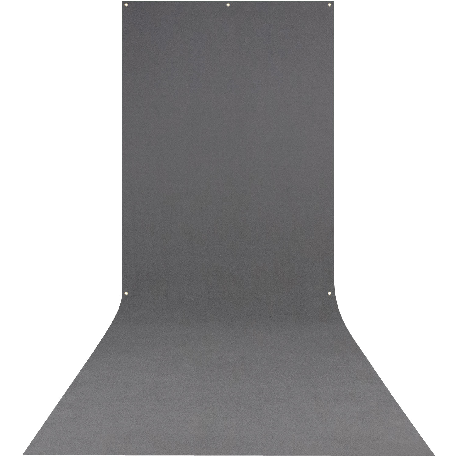X-Drop Wrinkle-Resistant Backdrop - Neutral Gray Sweep (5' x 12')