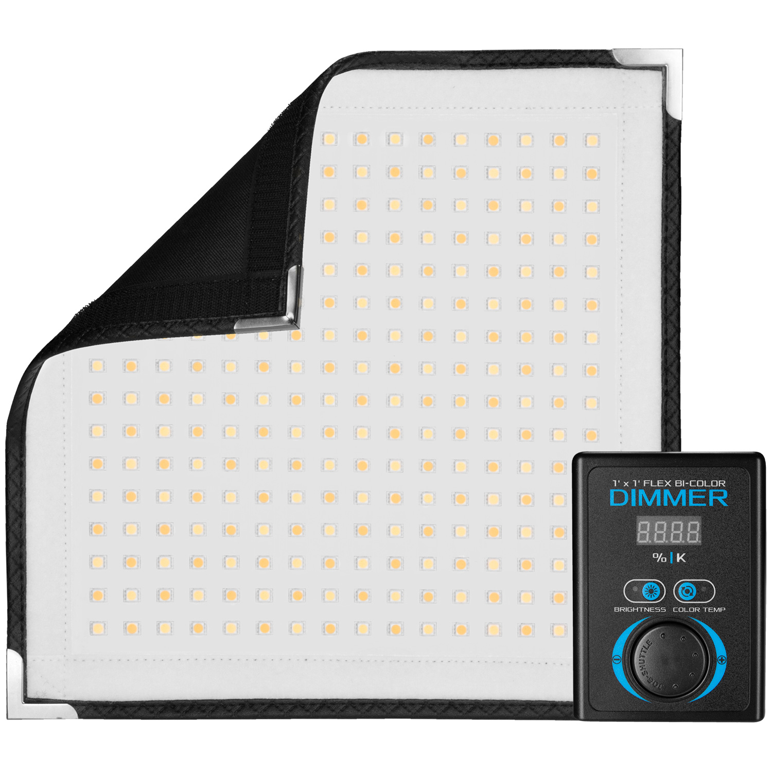 Flex Bi-Color LED Mat (1' x 1', US/CA Plug)