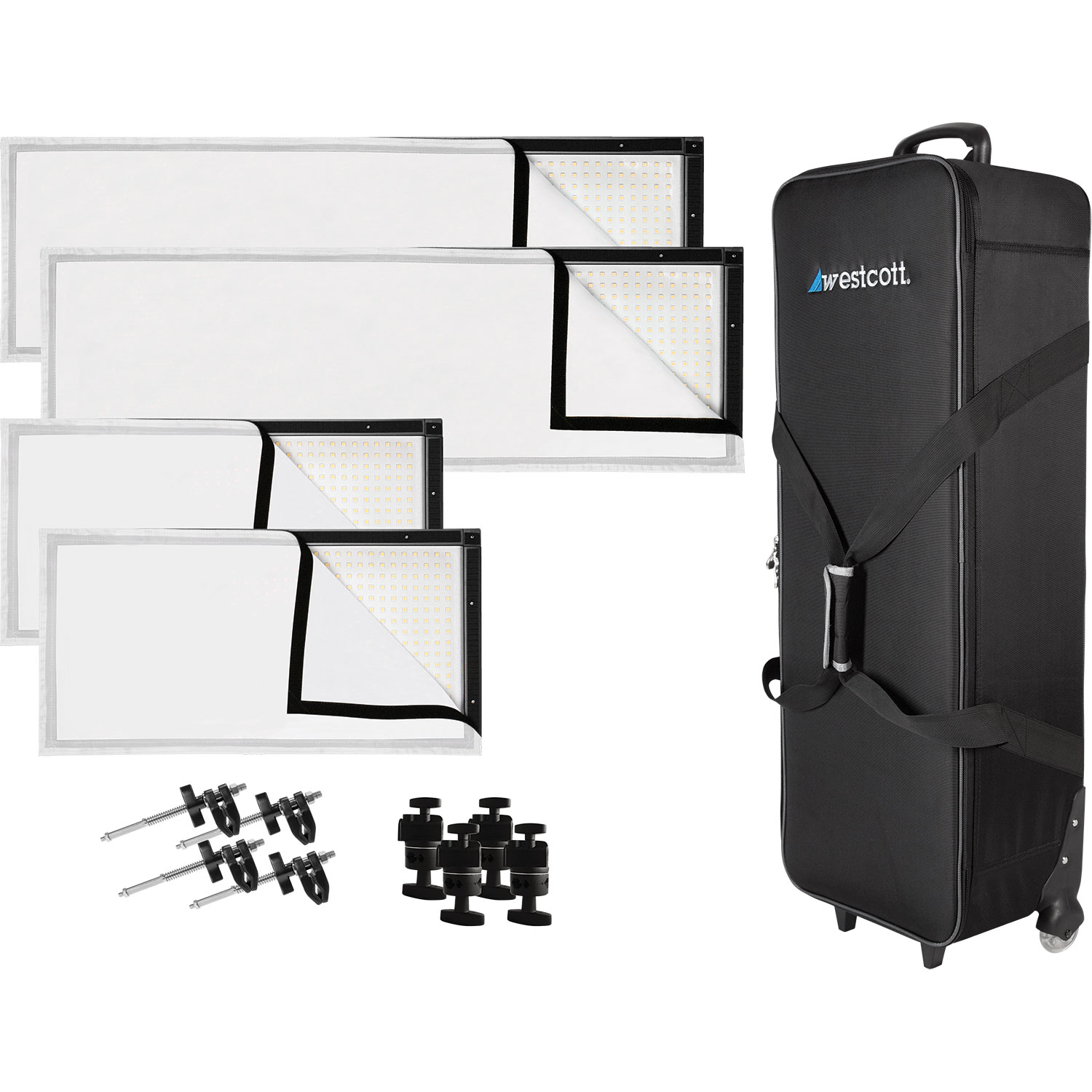 Peter Hurley Original Flex LED 4-Light Kit (US/CA Plug)