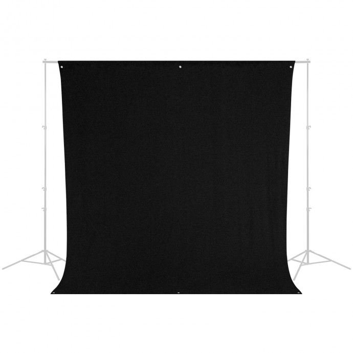 9' x 10' Black Background