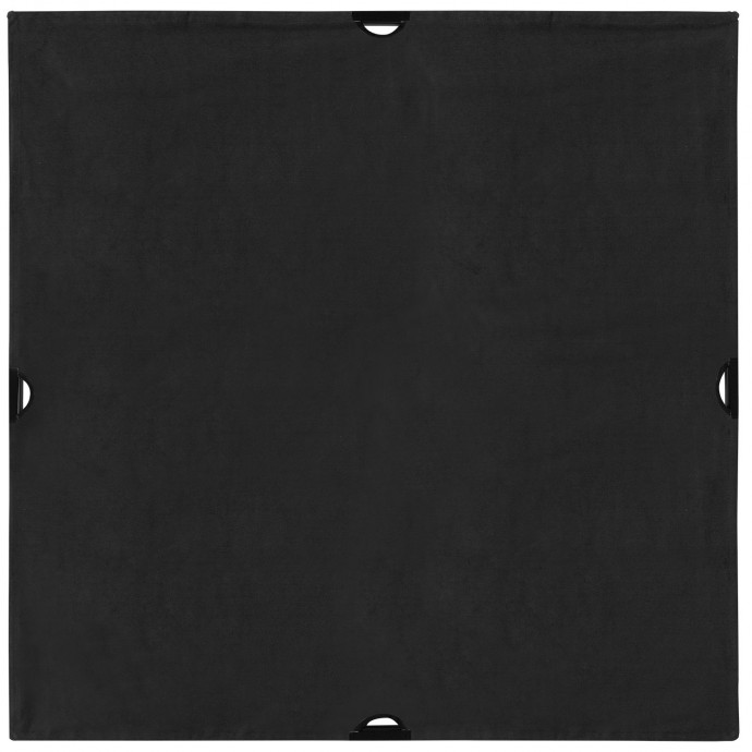 Scrim Jim Black Block Fabric