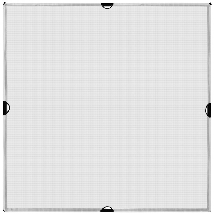 Scrim Jim Cine 4' x 4' 1/2-Stop Grid Cloth Diffuser