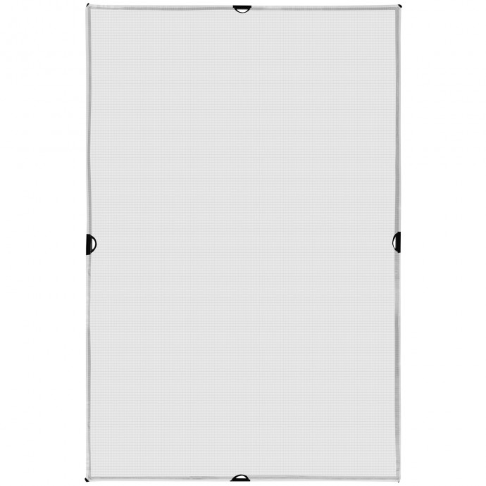Scrim Jim Cine 4' x 6' 1/2-Stop Grid Cloth Diffuser