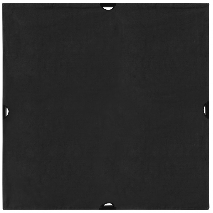 Scrim Jim Cine 4' x 4' Solid Black Block Fabric