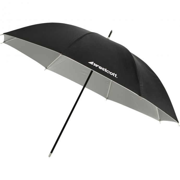 "32"" Soft Silver Umbrella"