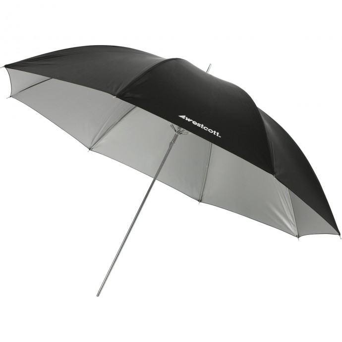 "#2006 - 45"" Soft Silver Umbrella"