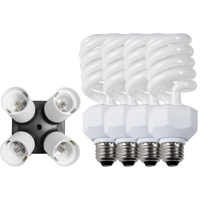 441 - Daylight Fluorescent 4-socket Adapter Kit