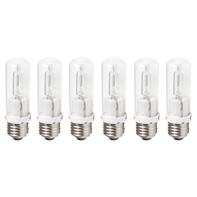 Tungsten Halogen Bulbs (150-watt, 6-pack)