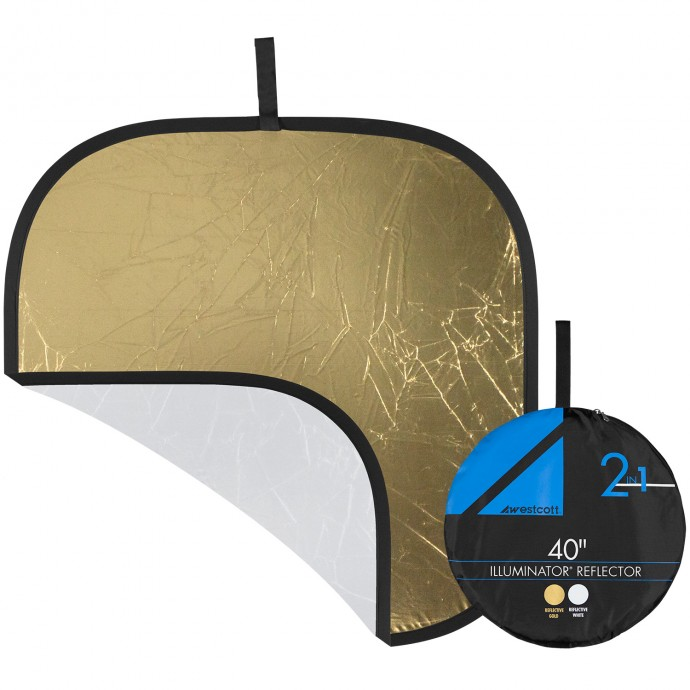 Pro 40 inch Gold/White Reflector Panel