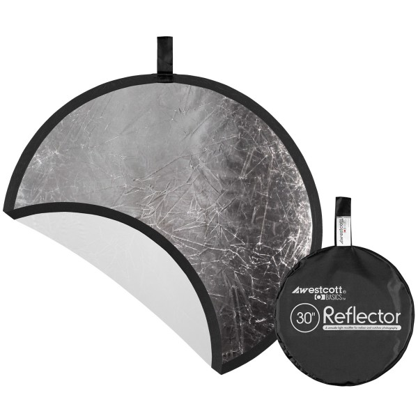Basics 30 inch Silver/White Reflector Panel