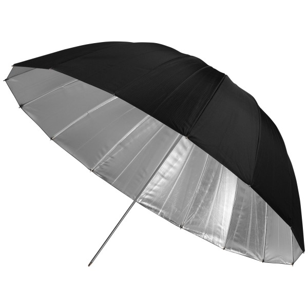 "#5633 - 43"" Apollo Deep Umbrella with Silver Interior"