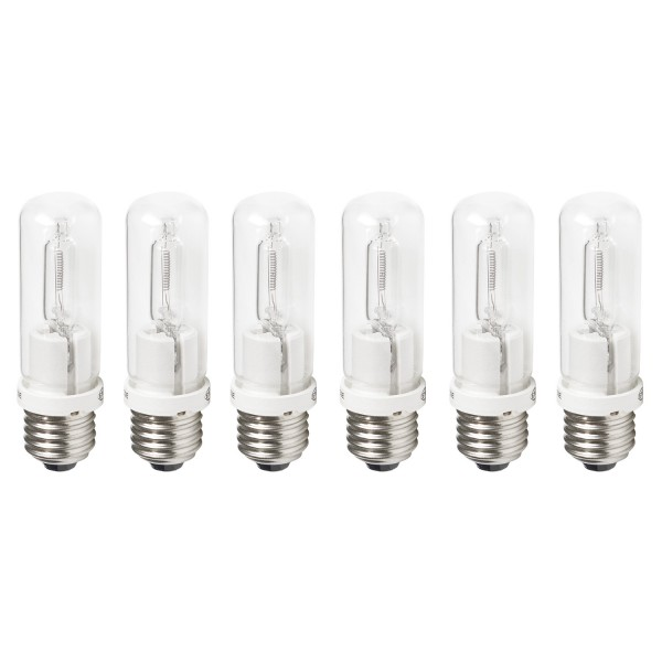 Tungsten Halogen Lamps (6-pack, 150-watt)