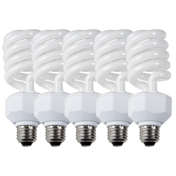 Daylight Fluorescent Lamp (27W, 5-Pack)
