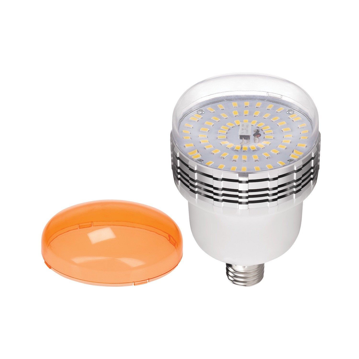 Westcott 45w Daylight Dimmable Led Bulb With Tungsten Gel Cap And Remote Energy Efficient And Long Lasting Led Lamp With Remote Control Unit