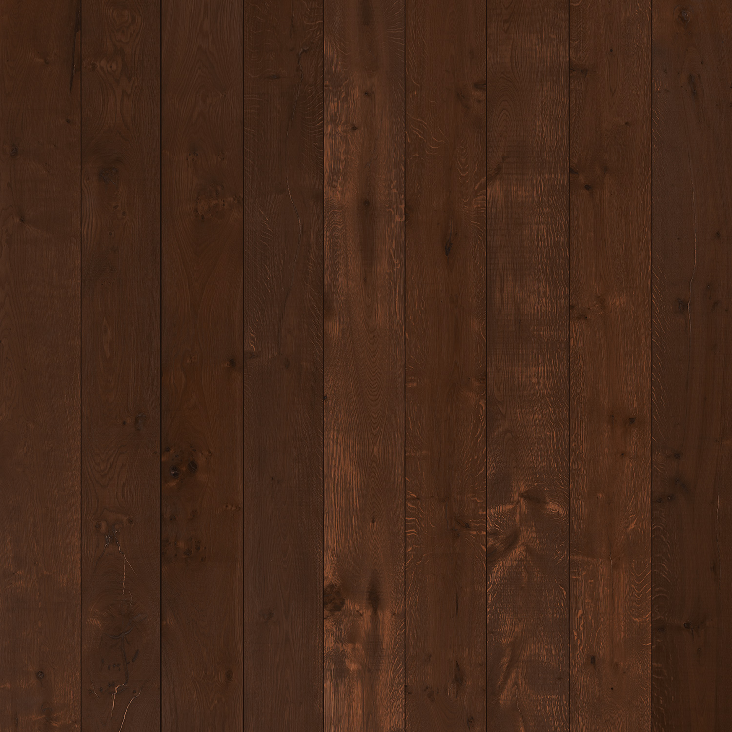 Wood Planks Matte Vinyl Backdrop (3.5' x 3.5') - Mocha